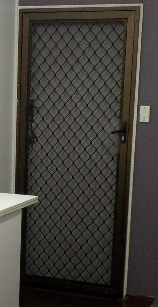 To Reuse Or Replace Resurfacing An Aluminium Security Screen Door